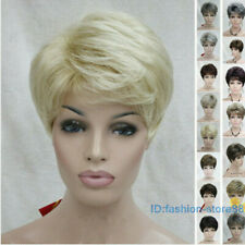 100% New Women Short wigs Curly ladies Daily Natural Hair synthetic Full Wig