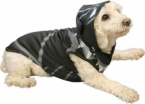 Black Panther Dog Costume Outfit Large NEW Hooded Marvel Advengers Superhero