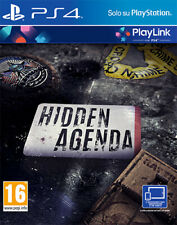 Egp220008 Sony Ps4 Hidden Agenda Playlink