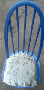 Blue chaise belle condition