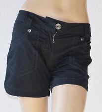 Esprit kesse Shorts dunkelblau Popeline Gr.34  -Neu