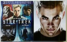 STAR TREK TRILOGY 3 MOVIE COLLECTION BLU RAY 3 DISC SET DIGIPACK + SLIPCOVER