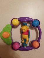 """VINTAGE DISNEY 1999 WINNIE THE POOH 8"""" ACTIVITY CENTER WITH SOUND FREE SHIPPING"""