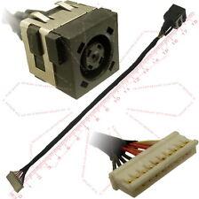 Dell hrv0k 0hrv0k DC JACK SOCKET DI ALIMENTAZIONE CAVO 10 PIN CONNECTOR wire