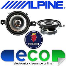 """Saab 9-3 Convertible ALPINE 8.7cm 3.5"""" 300 Watts 2 Vías Panel de control de altavoces del coche"""
