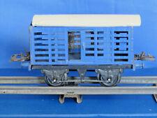 HORNBY TRAINS O GAUGE No.1 BLUE MILK TRAFFIC VAN