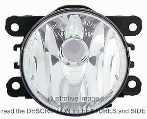 Front Fog Light Renault Fluence 2012 Right Side H16 261500097R