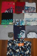 NWT Boys 5-6 HUGE Crazy 8 TCP Jumping Beans Lot of 10 Long & Short Sleeve Tops