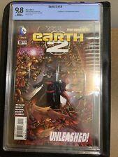 Earth 2 #19 CBCS 9.8 2016 1st Val-Zod DC Comics 2014 Michael B Jordan Like Cgc