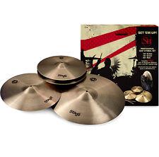 Stagg SH-set beckenset r20 + c16 + h14 + bolsa + Drumsticks