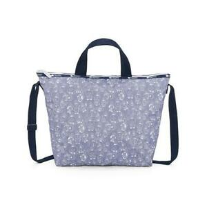 LeSportsac BTS Collection Easy Carry Tote in BT21 Denim NWT