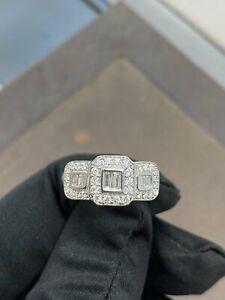 9ct White Gold & Diamond 0.50ct