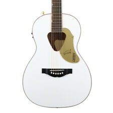 Gretsch G5021Wpe Rancher Penguin Parlor Acoustic Electric - White