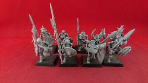 9 VAMPIRE COUNTS SKELETON WARRIORS OOP Deathrattle Plastic Warhammer Sigmar