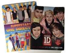 1D One Direction Photo Books: Superstars! & Dare to Dream