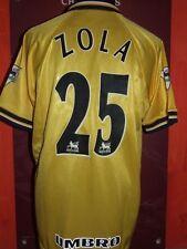 ZOLA CHELSEA 1998/1999 MAGLIA SHIRT CALCIO FOOTBALL MAILLOT JERSEY SOCCER