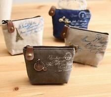 Canvas Coin Purses Animal Wallets for Women