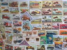 500 Different Cars/Motor Vehicles/Automobiles on Stamps Collection