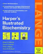 LANGE Harper's Illustrated Biochemistry /Murray/Graner/Mayes 26th Edition @New@