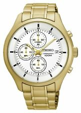 Seiko Men's Chronograph Stainless Steel Watch -From the Argos Shop on ebay