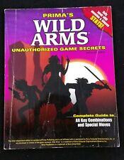 Wild Arms Unauthorized Game Secrets PRIMA