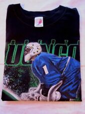 NHL Vancouver Canucks  Roberto Luongo #1  BLACK  T-Shirt KID'S BOY'S  MEDIUM M