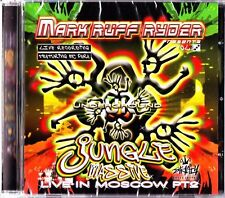 MARK RUFF RYDER Strictly Underground Jungle Massive Live in Moscow CD DJ Mix NEW