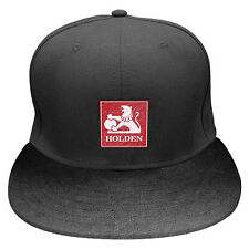 PREMIUM Holden 3D embroidered Leatherlike Flat Peak Hat Cap snapback Fathers Day