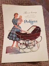 Pedigree Pram OR GEC Hair Dryer - 1955 Advertisement