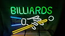 "New Billiards Game Room Neon Sign 20""x16"""
