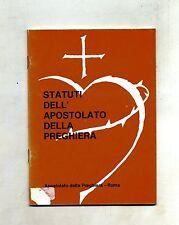STATUTI DELL'APOSTOLATO DELLA PREGHIERA # Edizioni ADP 1984