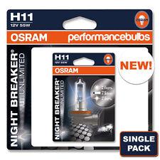 H11 OSRAM NIGHT BREAKER UNLIMITED VW TOUAREG 02-10 FOG FOGLIGHT BULB