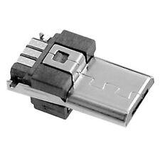 10 Pcs Micro USB Type A Male 5 Pin Connectors Plug SH B0R2 Y0N4 I0L5
