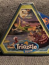 Disney Peter Pan TRIAZZLE JIGSAW PUZZLE  Triangle Pieces 528 Pieces