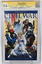 Civil War X-Men #1 2006 CGC Grade 9.6  Signature Series Stan Lee  Aspen Variant