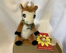 BORDENS Vintage Elsie The Cow Advertising Dairy Plush Stuffed Doll