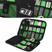 USB Flash Cable Organizer Digital Earphone Data Line Gadget Storage Case Bag