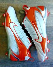 Nike Mens Super Speed Low Football Cleats White Orange Model 313287 181 Size 15