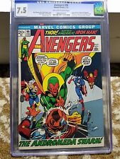 Avengers #96 CGC 7.5  Neal Adams