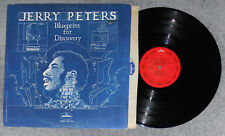 JERRY PETERS - Blueprint For Discovery, Scarce 1972 R&B Soul LP, Plays Excellent