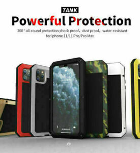 SHOCKPROOF HEAVY DUTY TOUGH ARMOUR CASE COVER iPhone 12 11 Pro Max 6 7 8 X XR