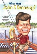 Who Was John F. Kennedy?: Who Was...?-ExLibrary