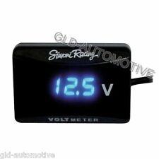 Voltmetro Digitale Pulsante on/off su Presa Accendisigari per Auto Simoni Racing