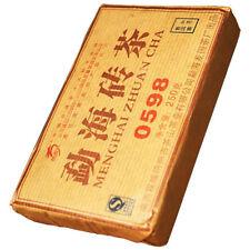 2007yrs Menghai Pu'er Tea Brick 0598 Aged Pu erh Ripe Tea 250g *ON SALE*
