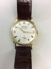 14kt Gold Vintage Gruen Precision Watch