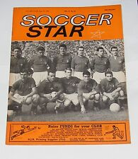 SOCCER STAR MAGAZINE JUNE 23RD 1962 - SWITZERLAND TEAM GROUP