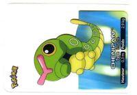 POKEMON LAMINCARDS CARTE CARD 010 CHENIPAN CATERPIE