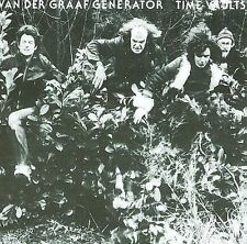 New: Van Der Graaf Generator: Time Vaults Original recording remastered Audio CD