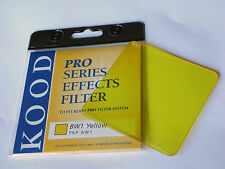 KOOD P SERIES YELLOW BW1 BLACK AND WHITE FILTER FITS COKIN P SYSTEM