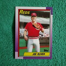 JOE OLIVER 1990 Topps rookie card
